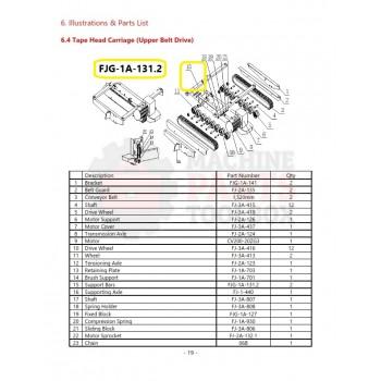 Eagle - Support Bars - # FJG-1A-131.2