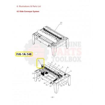 Eagle - Drive Roller - # FJG-1A-148