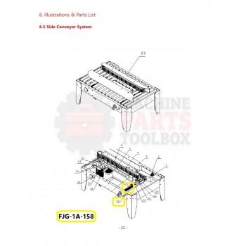 Eagle - Orientation Plate - # FJG-1A-158
