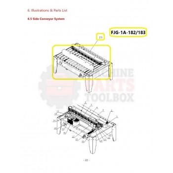 Eagle - Roller Assembly - # FJG-1A-182/183