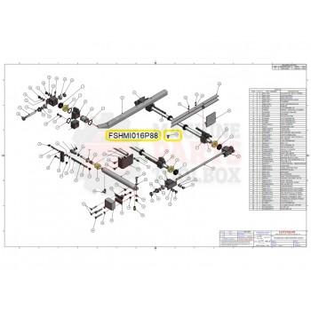 Loveshaw - SOC. HD. CAP SCREW M10 X 16 - # FSHMI016P88