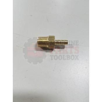 Loveshaw - Fitting - Brass 1 / 8 ID Tube X 1 / 8 NPT - H 153