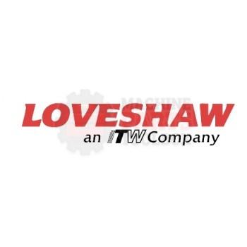 """Loveshaw - haft, Finger Plate 3 3/8"""" - # PS4C3626"""