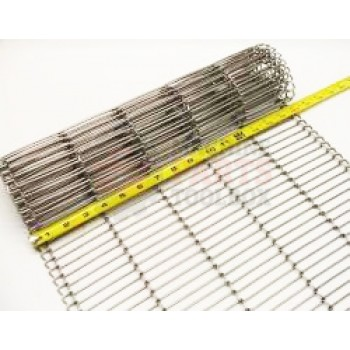 """Eastey - Conveyor Belt - Stainless Steel Wire Mesh - 16"""" WIde - 1/2"""" x .092 - price by the foot"""