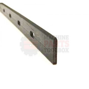 """Eastey - Hot Knife Poly Insert, 16"""" Front Bar - SUPRA SILVERSTONE"""