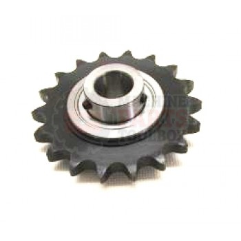 Eastey - Sprocket with Bearing, Idler - ( for All Tunnels )