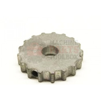"Eastey - Sprocket, Stainless Steel Conveyor Drive - 1/2"" Pitch - ( use with stainless steel mesh belt )"