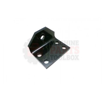 Lantech - ANGLE FORMED FENCE PANEL GATE MOUNT SHORT PAINTED
