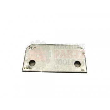 Lantech - Plate Doorswitch Key Spacer Stainless Steel - 000269A
