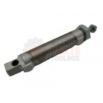 Lantech - Cylinder Air 25MM Bore 50MM Stroke M10X1.25MM Rod Thread G1/8 Connections Double Acting - 000373A