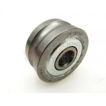 Lantech - Roller Idler Track 12MM Bore X 42MM OD X 19MM Wide With 10MM OD Groove - 000402A