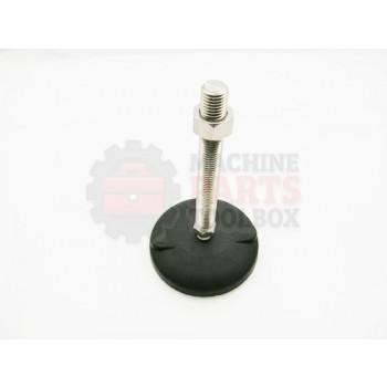 Lantech - Foot Nylon Leveling M16X2 X 158MM Tall 98MM OD - 000559A