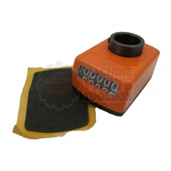 Lantech - Counter Mechanical 5 Digit Metric Display - 000678B