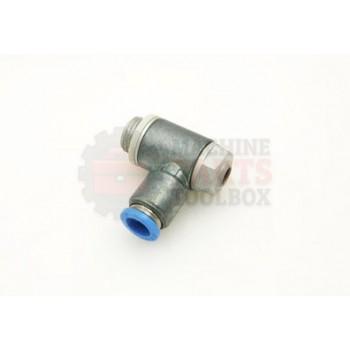 Lantech - Valve Flow Control Cylinder MT G1/4 X 8MM Tube SWIVEL - 000942A