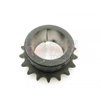 Lantech - Sprocket Metric Z=18-1/2 - 000988A