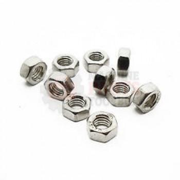 Lantech - Fastener Nut Hex M5X0.8 Class 10 ZINC Plated Steel DIN934 - 001528A
