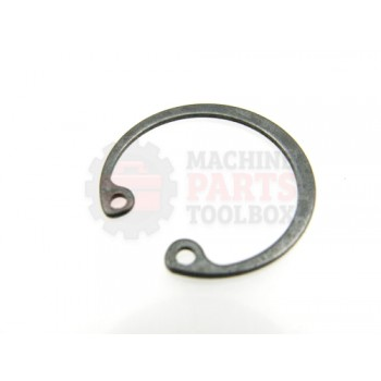 Lantech - Snap-Ring Internal For 32MM Bore X 1.2MM Thick Black Phosphate Steel DIN472 - 001629A