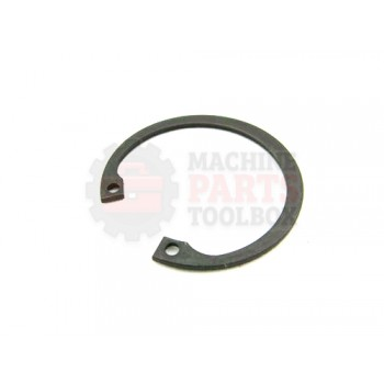 Lantech - Snap-Ring Internal For 42MM Bore X 1.75MM Thick Black Phosphate Steel DIN472 - 001636A
