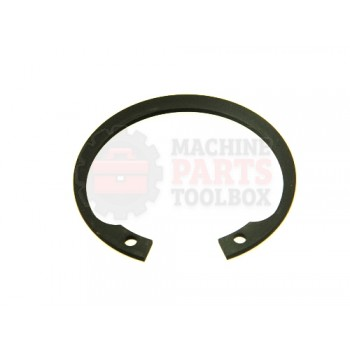 Lantech - Snap-Ring Internal For 47MM Bore X 1.75MM Thick Black Phosphate Steel DIN472 - 001638A