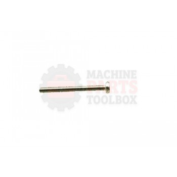 Lantech - Fastener Bolt Cheese Head Slotted 18-8 Stainless Steel - 002038A