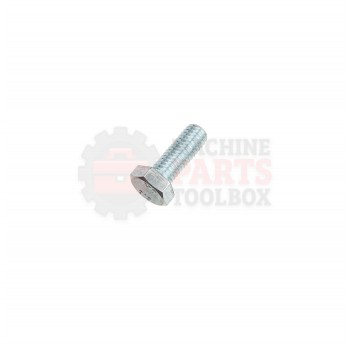Lantech - Fastener Bolt M12X1.75 X 50MM HHCS Class 10.9 Fully Threaded / Clear - 30141002