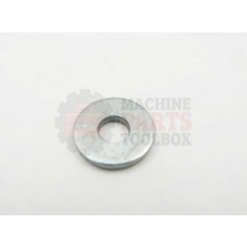 Lantech - Washer Flat For M5 Bolt 5.3MM ID X 15MM od X 2MM Thick - 002659A