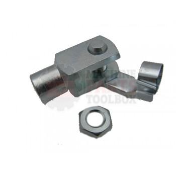 Lantech - Clevis Rod M10X1.25 Galvanized Steel (SG-M10X1.25) - 002913A