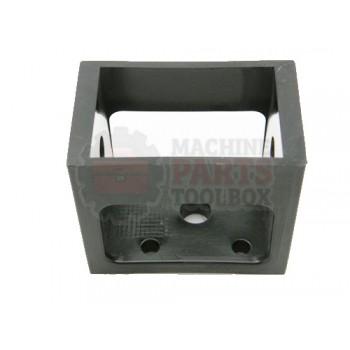 Lantech - Box Square Transmission Black Plastic - 002932B