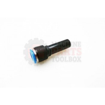 Lantech - Fitting Pneumatic Straight Reducing 12MM Tube To 10MM - 003188A