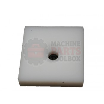 Lantech - Plate Skid UHMW 1/2 X 2-1/2 X 2-1/2 - 30000069
