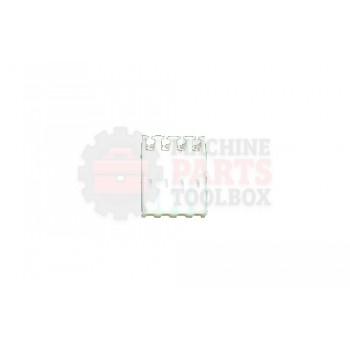 Lantech - Connector Pin 4P 0.156 Spacing Accepts 20AWG Wire - 30000156