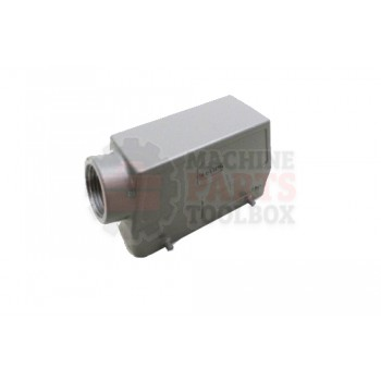 Lantech - Connector Cover Modular 24P Plus GND 1IN NPT Side Entry - 30000168