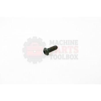 Lantech - Fastener Screw Machine M6X1.0 X 16MM Button Head - 30002454
