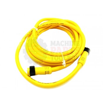 Lantech - Cable Electrical 4COND 16AWG Extension MF Mini QD 12FT PVC Straight Male Straight Female Connector - 30002801