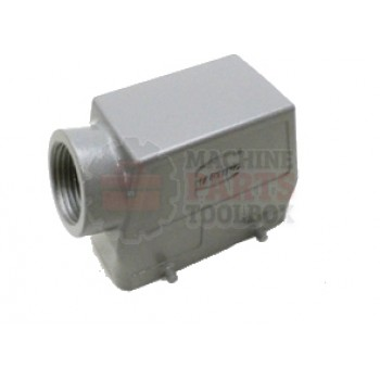 Lantech - Connector Cover Modular 16P Plus GND 1IN NPT - 30003717