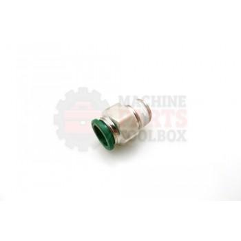 Lantech - Fitting Pneumatic SWIVEL Elbow 1/4TBG 3/8NPT - 30004335