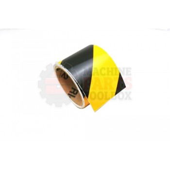 Lantech - Tape Safety 3 InchS Wide Black W/ Yellow Stripe Reflective (Stocked BY The 30 FT Roll. Unit Of Measure = BY The FT) - 30005961