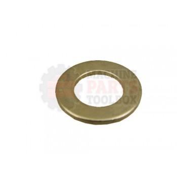 Lantech - Washer Flat 3/8 Screw Size X .043 THK Nickel Plated - 30006450