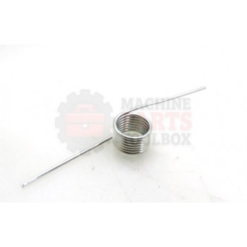 Lantech - Spring Torsion MW Wire Diameter 0.085 In Left-Hand ZINC Plate Per ASTM - 30132017