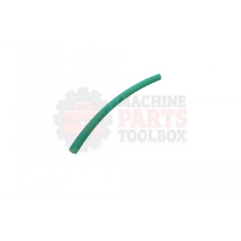 Lantech - Rubber Tube 7MM OD X 4-3/4 LG Polyurethane Eagle Green 89T - 30132092