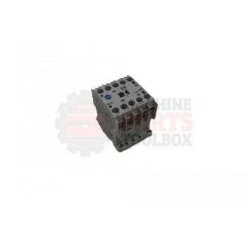 Lantech - Contactor 115VAC 9.00A 1NO Aux Mini - 30132764