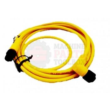 Lantech - Cable Electrical 4COND 22AWG Extension 90DEG-F STR-M Micro QD 2M PVC - 30134170