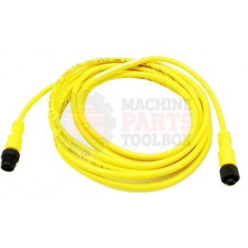 Lantech - Cable Electrical Extension 4COND 22AWG STR-F STR-M Micro QD 3M PVC - 30134175