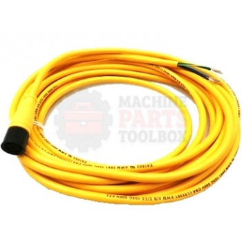 Lantech - Cable Electrical 4COND 22AWG STR-F Micro QD 5M PVC Reverse Key - 30134185