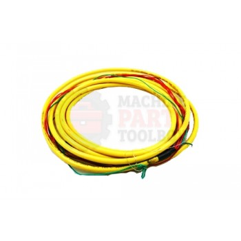 Lantech - Cable Electrical 5COND 22AWG STR-F Micro QD 5M PVC Shielded Dual Keyway - 30134188