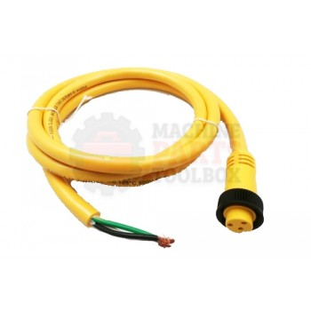 Lantech - Cable Electrical 3COND 16AWG STR-F Mini QD 6FT PVC - 30134197