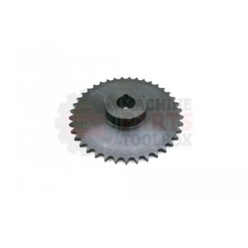 Lantech - Sprocket Metric 06B39H 39 Tooth 3/4 Bore W/5MM Keyway 2 Set Screws - 30136799