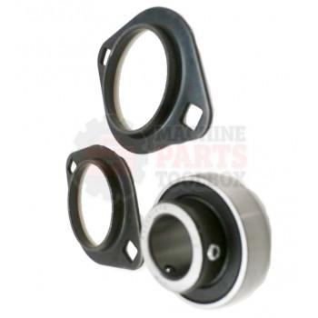 Lantech - Bearing Flange 3/4 Bore Stamped Steel Housing 2 Set Screw - 30136959