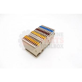 Lantech - Terminal Block Grey IDC Actuator 24-16 AWG DIN Mount 300V 10A - 30137229