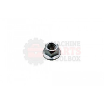 Lantech - Fastener Nut Flanged Stover Lock M10 X 1.5 Class 10.9 - 30140203